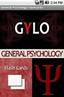 Screenshot of General Psychology Flashcards