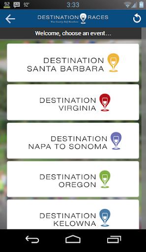 Destination Races