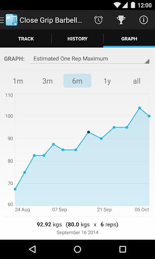 FitNotes - Gym Workout Log Screenshot