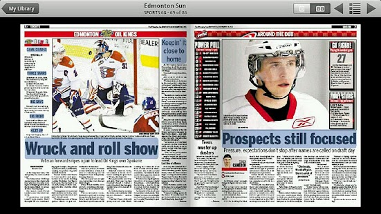Edmonton Sun e-edition - screenshot thumbnail