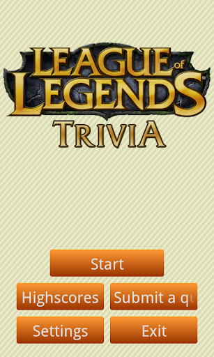 League of Legends Trivia