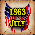 1863 July Am Civil War Gazette icon
