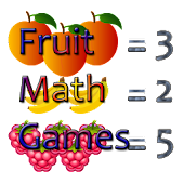 Fruit Math Games Kids Easy