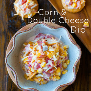 Corn and Double Cheese Dip.