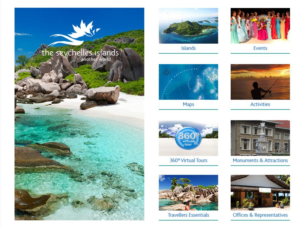 Seychelles Digital Brochure- screenshot