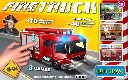 Fire Truck Games for Kids- screenshot thumbnail