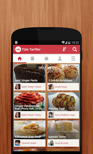 Nefis Yemek Tarifleri app (apk) free download for Android/PC/Windows screenshot