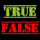 True or False? The Big Quiz icon