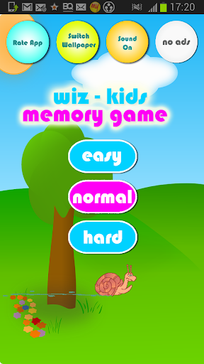 Kids Memory Game -Animals Free