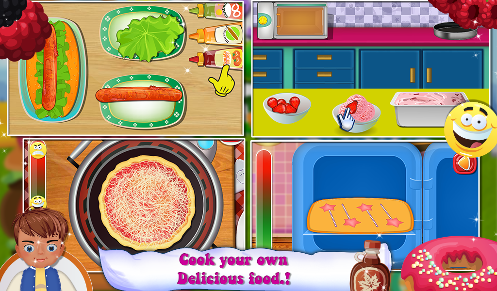 Kids Food Garden- screenshot