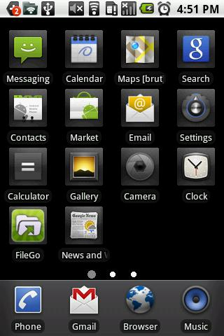 vLauncher - best app organizer - screenshot