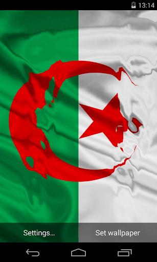 Flag of Algerian