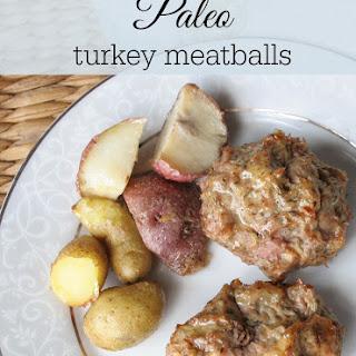 Paleo Italian Turkey Meatballs