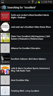 Podkeeper Free podcast player - screenshot thumbnail