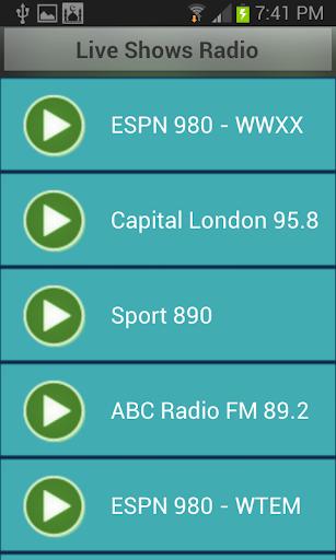 Live Shows Radio