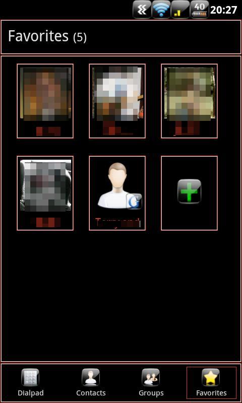 Anastasdroid GoContactsEx Free - screenshot