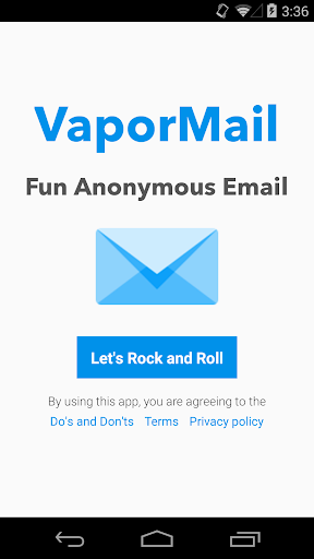 VaporMail - Anonymous Email