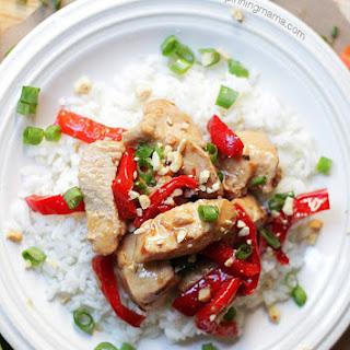 {Easy Dinner Recipe} Thai Chicken Bake