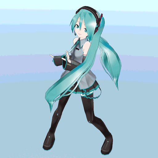 MIKUMIKUDANCE-WAVEFILE LOGO-APP點子