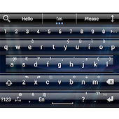 Theme for A.I.type Glass Blue