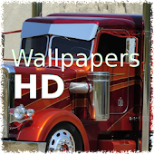 Photo wallpaper trucks