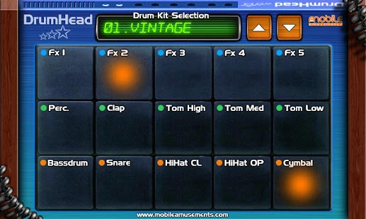 DrumHead Drum Pad Machine- screenshot thumbnail