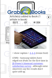 GrabMyBooks Lite- screenshot thumbnail