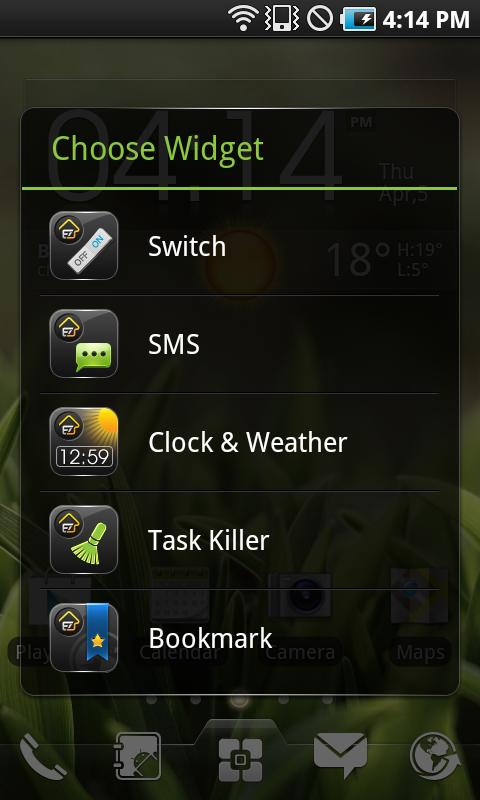 EZ Task Manager Widget- screenshot