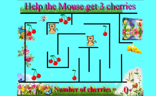 Logical Maze counting game