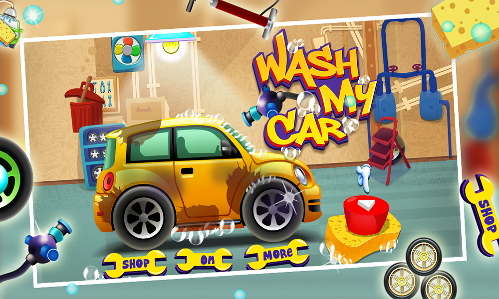 Wash My Car For Kids- screenshot