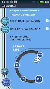 Hal Higdon's 1/2 Marathon - N2- screenshot thumbnail
