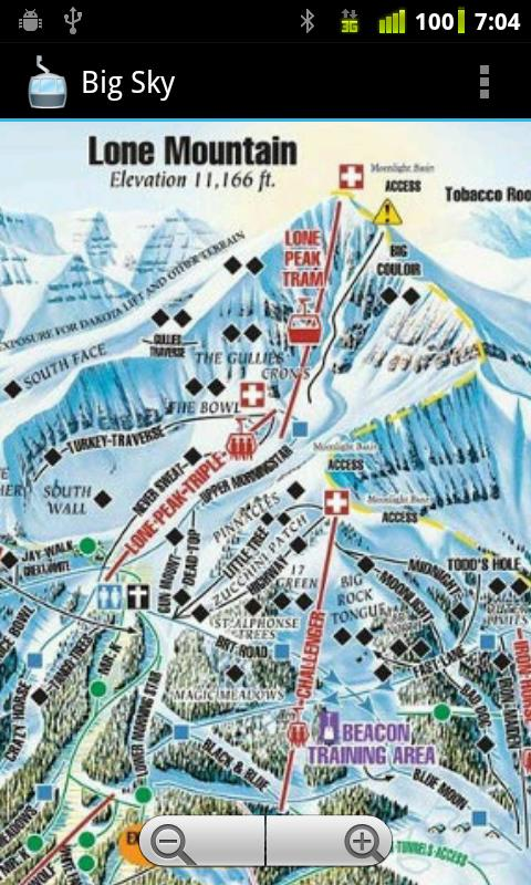 Ski TrailMaps Pro - screenshot