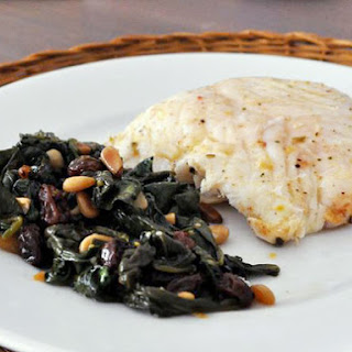 Lemon-Marinated Halibut.