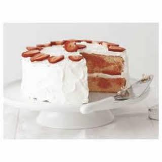 Strawberry Swirl Cake.