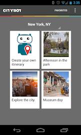 Citybot Smart Travel Guide Screenshot 2