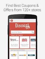 Screenshot of Discount Me Coupons, Offers