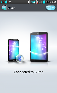 QPair for Wi-Fi GPad - screenshot thumbnail