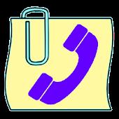 Call Log:  CallTags