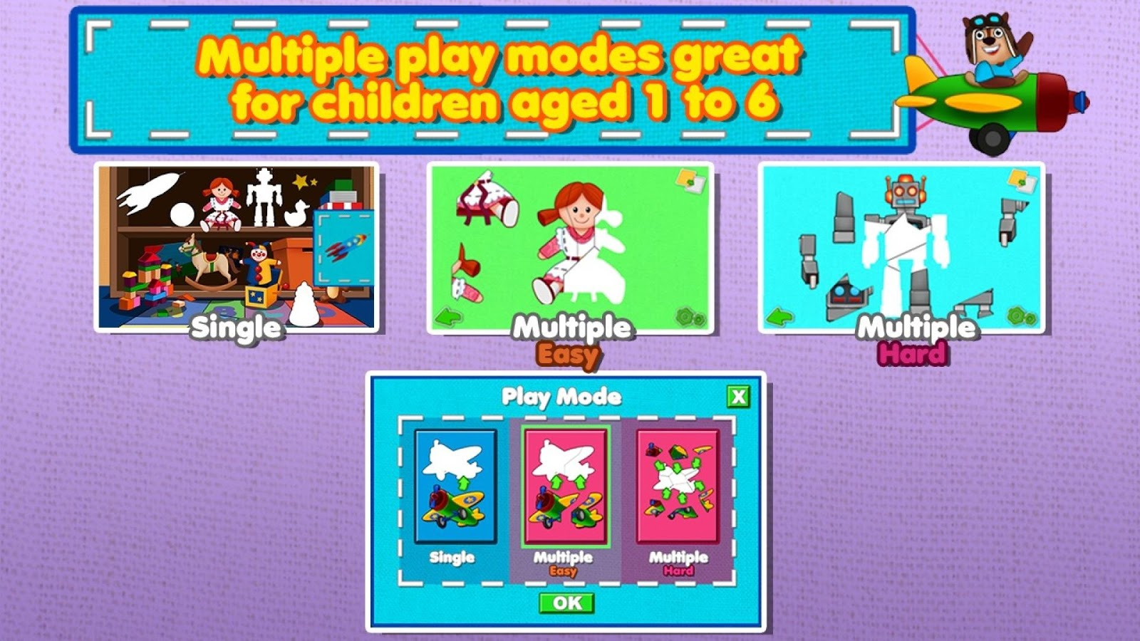 Awesome Shape Puzzles for Kids - screenshot