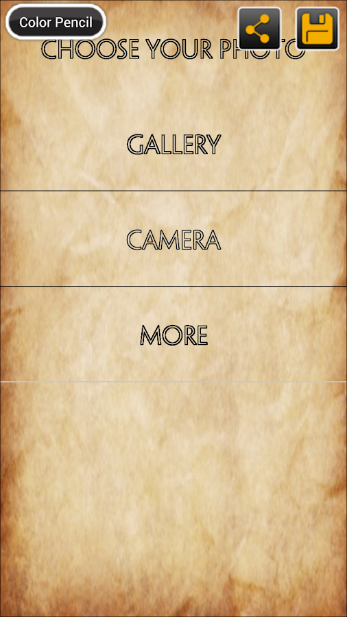 Photo Sketch - screenshot