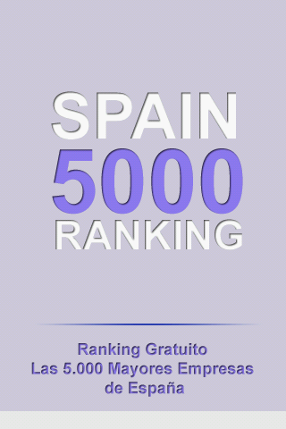 Spain Business Ranking 5000 - screenshot