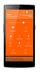 Elegance Orange CM12 Theme v3.0