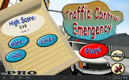 Traffic Control Emergency Pro