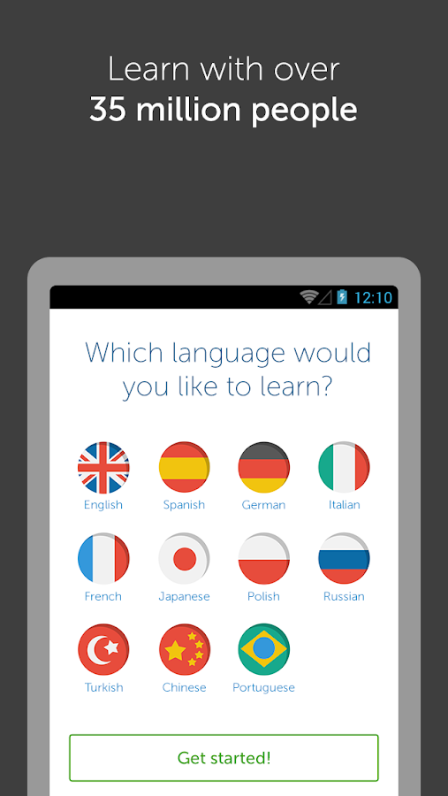 Learn languages with busuu - screenshot