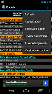 Know-Your-Android-Network 4