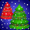 Colorful Christmas Tree icon