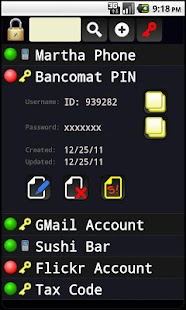 Personal Password Manager - screenshot thumbnail