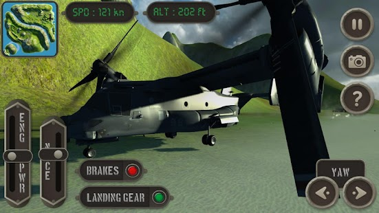 V22 Osprey Flight Simulator- screenshot thumbnail