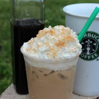 CopyCat Starbucks Iced Cinnamon Dolce Latte.