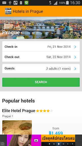 Prague travel hotel guide